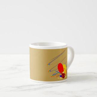 Gold money ang magic rainbow Mug Espresso Cups