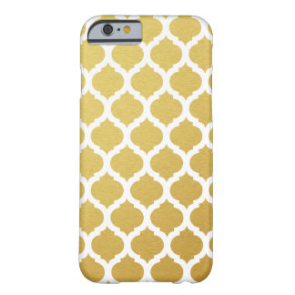 Gold Moroccan Pattern iPhone 6 Case