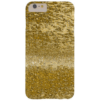 Gold mosaic pattern barely there iPhone 6 plus case