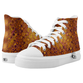 GOLD MOSAIC PEBBLE HIGH TOPS