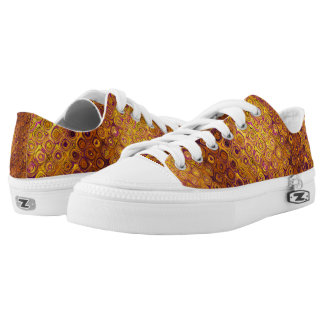 GOLD MOSAIC PEBBLE LOW TOPS