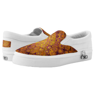 GOLD MOSAIC PEBBLE Slip-On SHOES