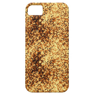 Gold mosaic tiles barely there iPhone 5 case