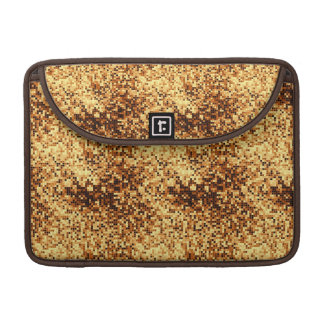 Gold mosaic tiles sleeve for MacBook pro
