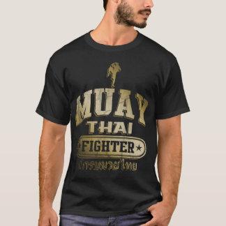 Gold Muay Thai Fighter T-Shirt