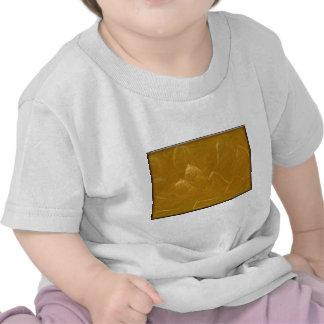 Gold n Copper Sheet :  Lotus Engraved Design Shirts