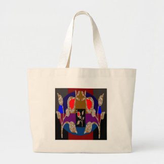 Gold n Silver Jewels: Engraved Embroidered Look Canvas Bag