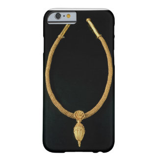 Gold necklace with acorn pendant from Monte Luna Barely There iPhone 6 Case