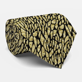 Gold Nugget Pattern on Any Color Tie