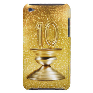 Gold Number 10 Trophy Case-Mate iPod Touch Case