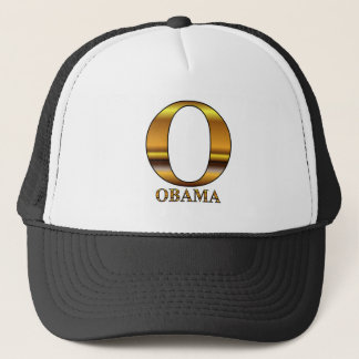 Gold O for Barack Obama Trucker Hat