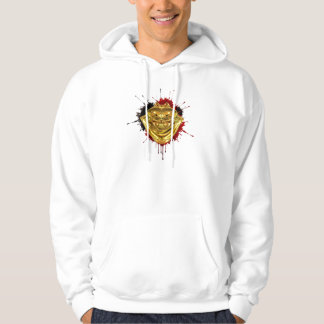 Gold + Oil = Blood Hooded Pullovers