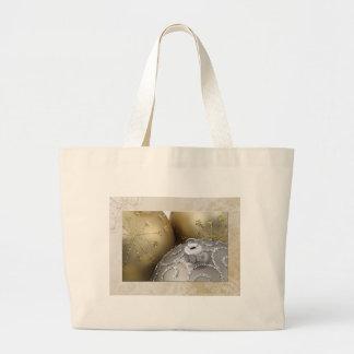 gold-ornaments tote bag