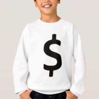 Gold Outlined $ Sweatshirt
