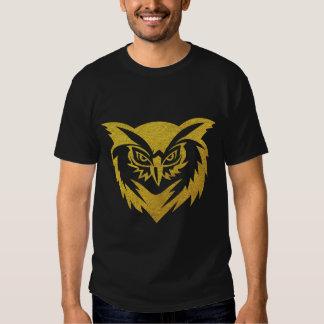 Gold Owl T Shirts