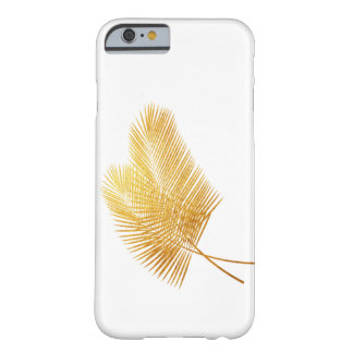 Gold palm leaf tropical case iPhone