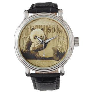 Gold Panda coin Watch
