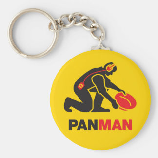 Gold Panning Key Ring