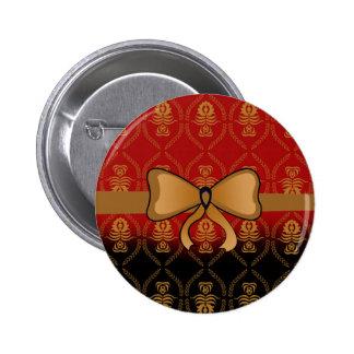 Gold patterns buttons