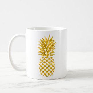 Gold Pineapple - Classic White Mug