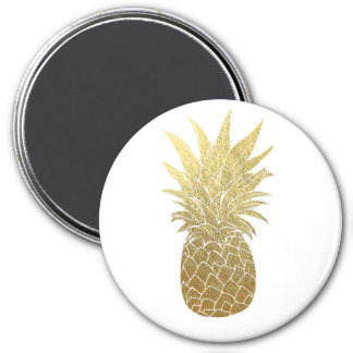 Gold Pineapple Magnet