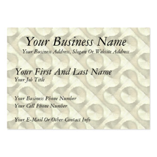 Gold Plaster and Cardboard Labyrinth Pack Of Chubby Business Cards