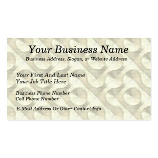 Gold Plaster and Cardboard Labyrinth Pack Of Standard Business Cards