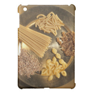 Gold Plate with pasta and grains of wheat Cover For The iPad Mini