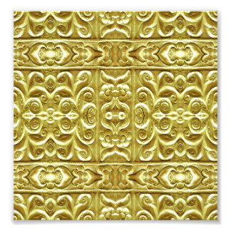 Gold Plated Ornament Photograph