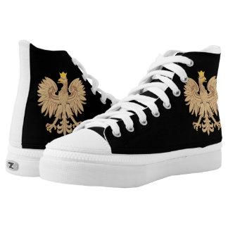 Gold Polish Eagle Shoe