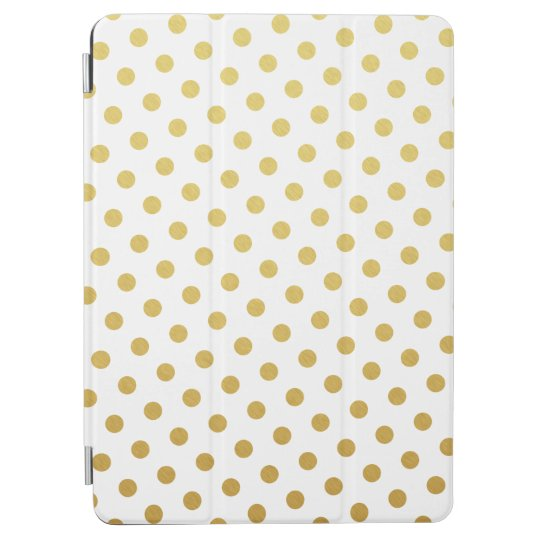Gold Polka Dot Pattern iPad Air Case iPad