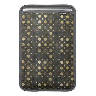Gold Polka Dots Macbook Air Sleeve