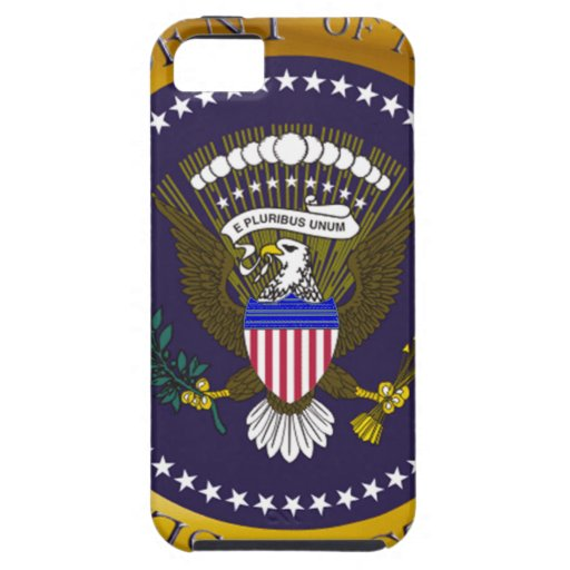 Gold Presidential Seal Case For iPhone 5/5S