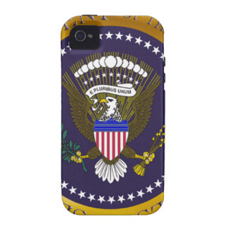 Gold Presidential Seal iPhone 4/4S Covers