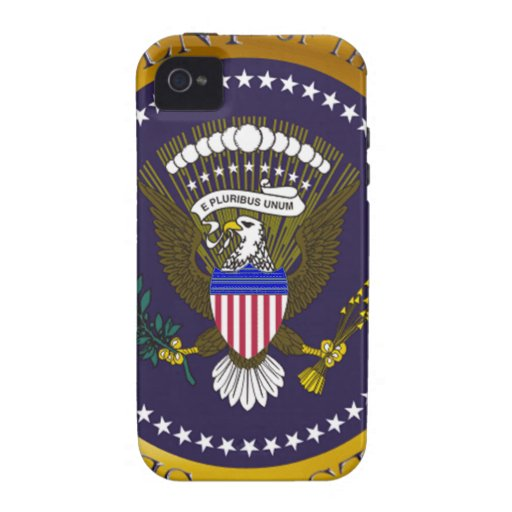 Gold Presidential Seal iPhone4 Case