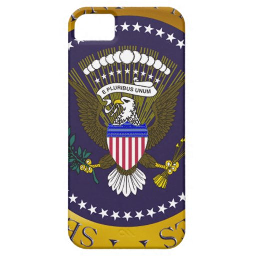 Gold Presidential Seal iPhone 5/5S Cases