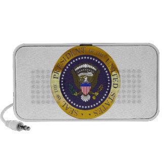 Gold Presidential Seal Portable Speaker