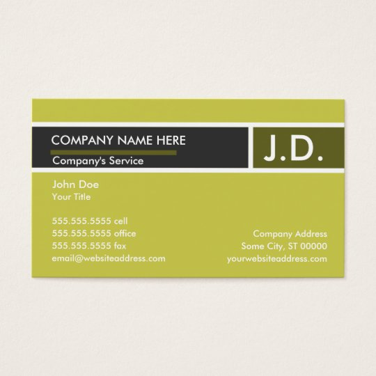 gold professional : business card