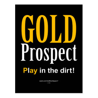 Gold Prospect Postcard