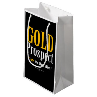Gold Prospect Small Gift Bag