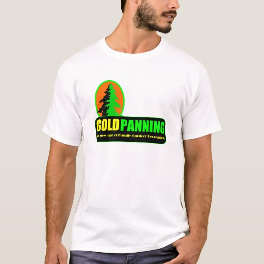 Gold Prospecting Panning Outdoor Fun Family UNISEX T-Shirt