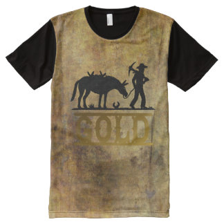 Gold Prospector. All-Over Print T-Shirt