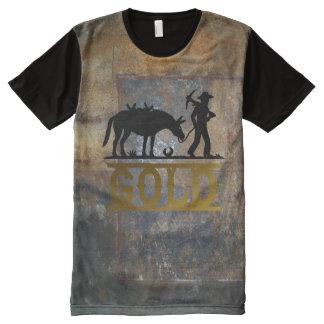 Gold Prospector. All-Over Print T-Shirt