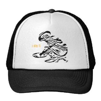 Gold Prospector Mesh Hat