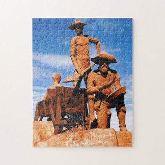 Gold Prospector Photo Designed Color Puzzle