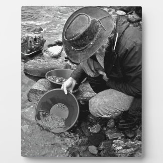 Gold Prospector Plaque