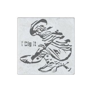 Gold Prospector Stone Magnet