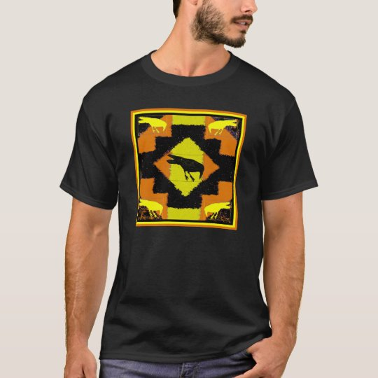 Gold Raven Blanket T-Shirt