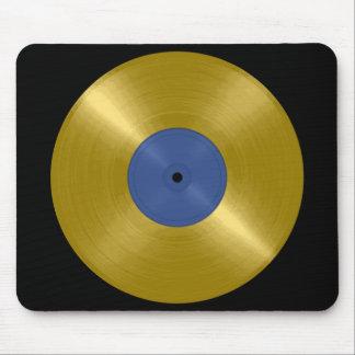 Gold Record Album Mouse Mat
