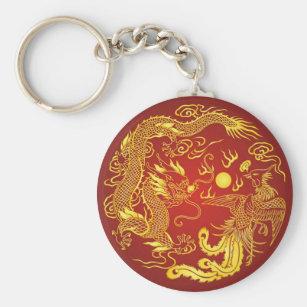 Dragon And Phoenix Key Rings Dragon And Phoenix Key Ring Designs